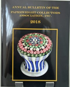 Annual Bulletin of the Paperweight Association Inc. 2018